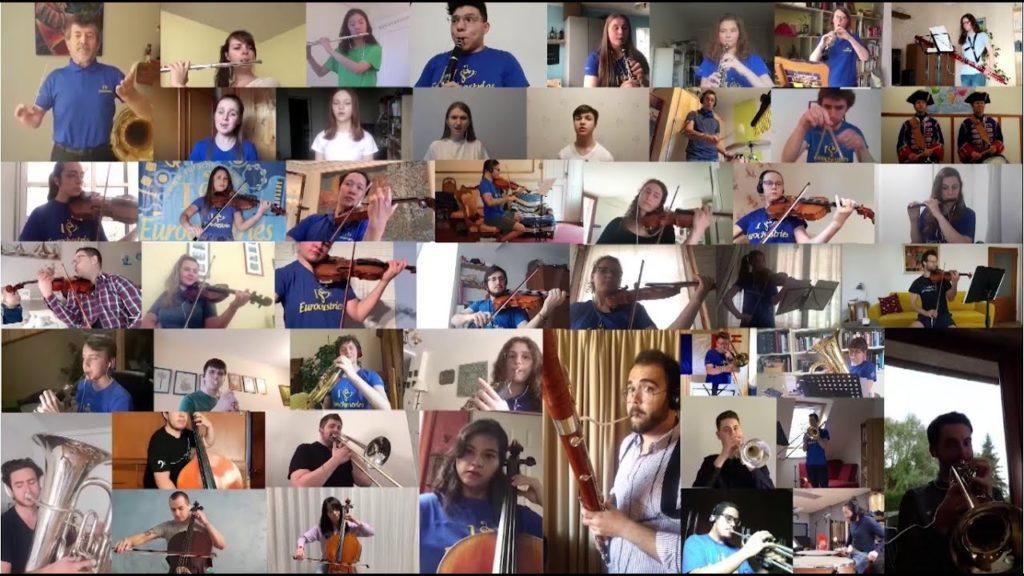 Les Eurochestries en confiné : la vidéo de la solidarité