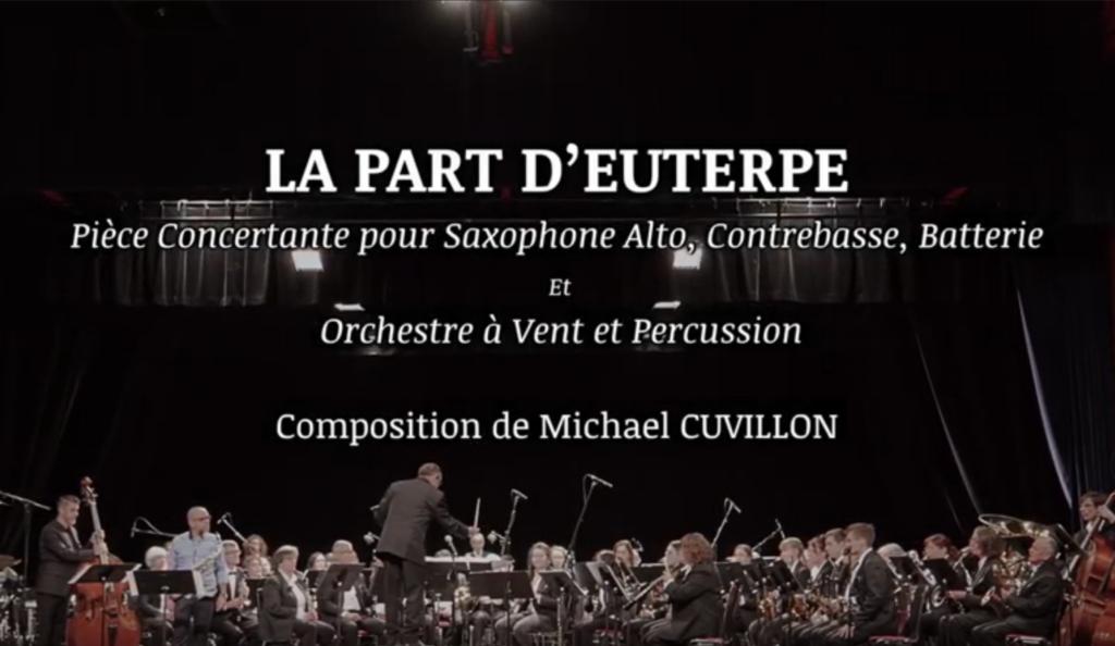 La part d'Euterpe, pièce concertante de jazz, pour orchestre et trio