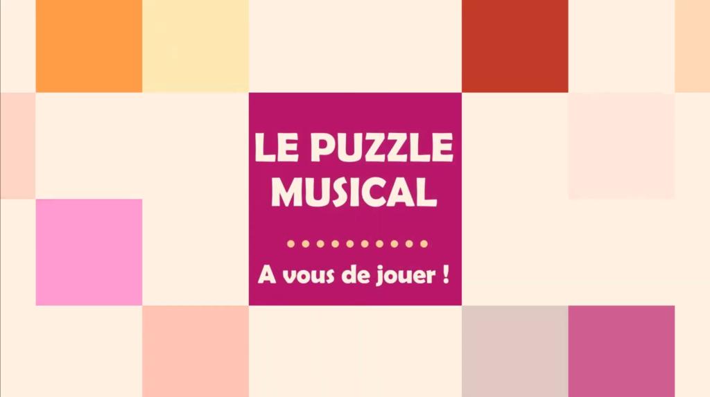 Le Puzzle Musical : à vous de jouer !