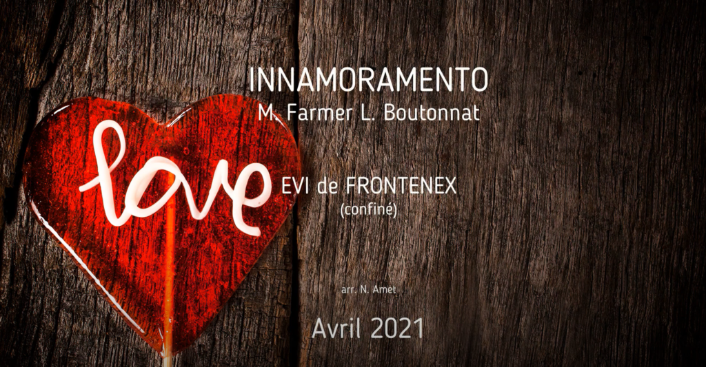 Concert en vidéo: Innamoramento M. Farmer