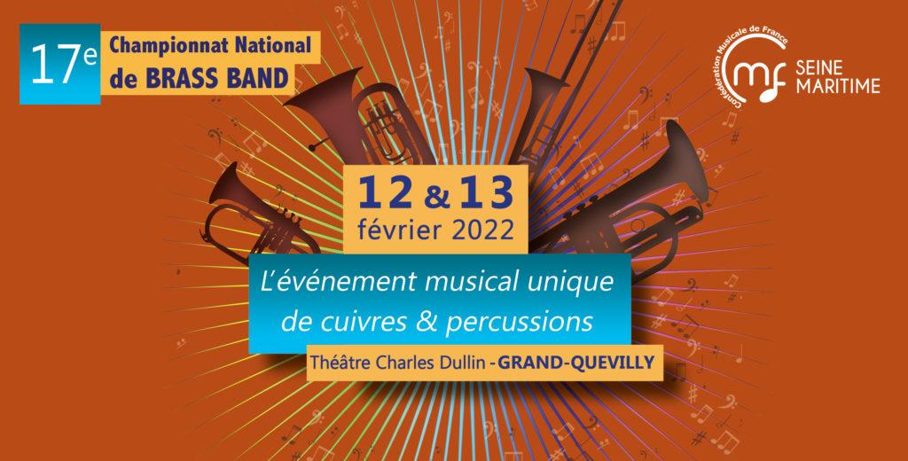 Brass Bands inscrivez-vous au Championnat National de Brass Band 2022 !