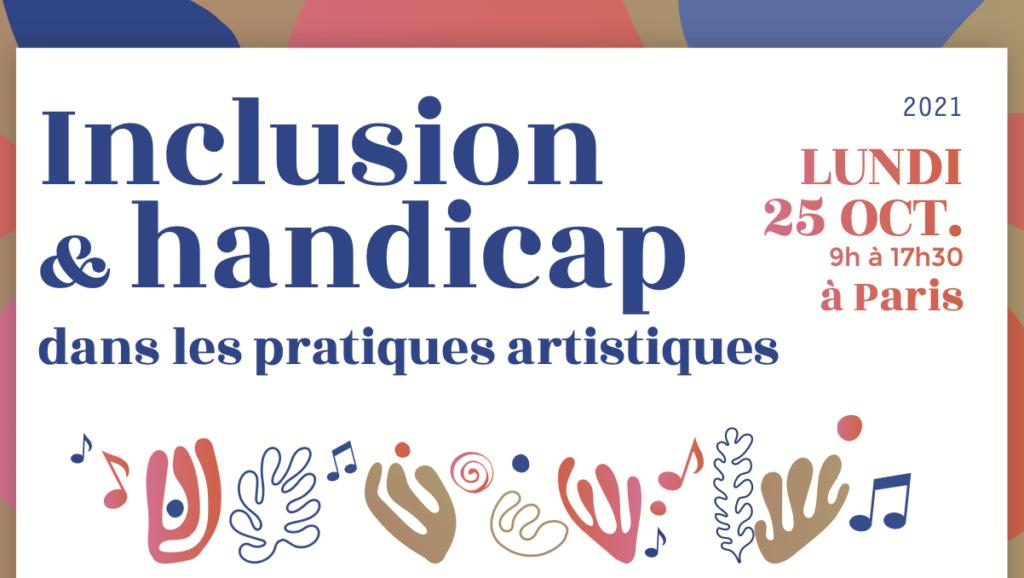 Inclusion et handicap dans les pratiques musicales 25/10/2021