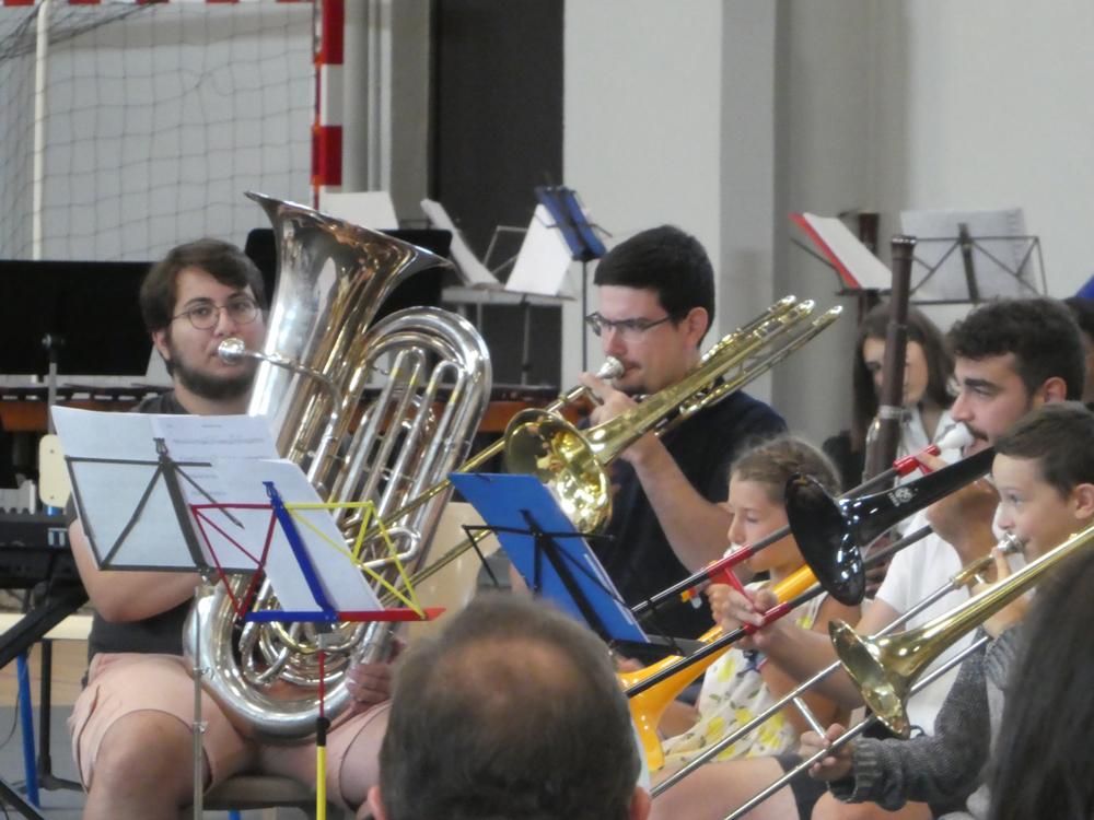 Stage de formation de chefs d'orchestre d'harmonie et stage de perfectionnement instrumental et de pratique en ensembles